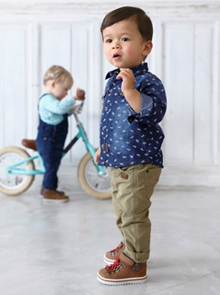 "Babymode-Lookbook Babys-Outfit ""Cool Denim"""