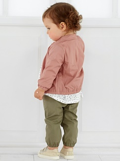 Babymode-Lookbook Babys-Outfit – Rosé