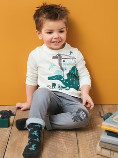 Jungenkleidung-Lookbook-Outfit – Dino cool