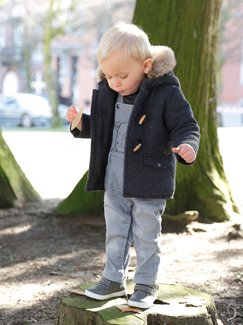 Babymode-Lookbook Babys-Outfit – Cool in blue