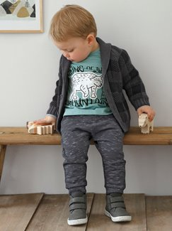 Babymode-Lookbook Babys-Outfit – Cool in grey