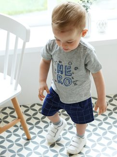Babymode-Lookbook Babys-Outfit – Little hero