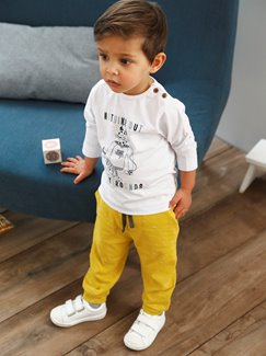 Babymode-Lookbook Babys-Outfit – Yellow cat