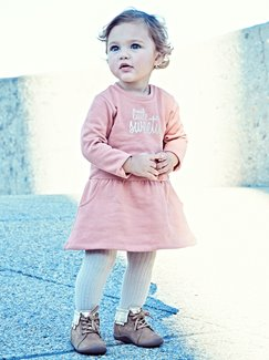 Babymode-Lookbook Babys-Outfit – Sweet in pink