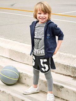 Jungenkleidung-Lookbook-Outfit – Sporty Boy
