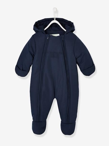 Vertbaudet Warmer Baby Overall mit Rei/ßverschluss