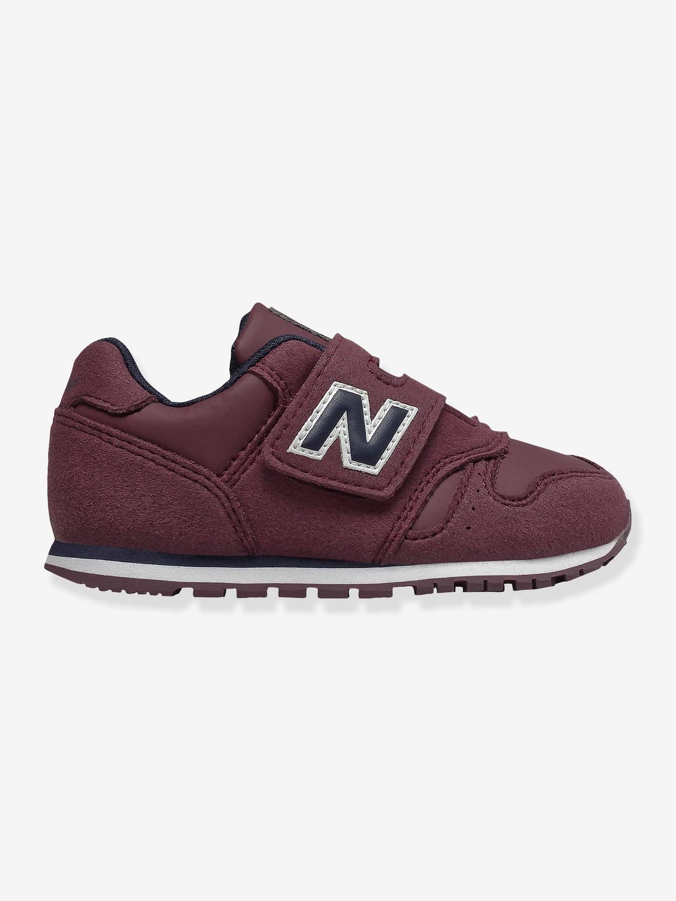 New Balance Baby Jungen Sneakers 373 NEW BALANCE, Klett in bordeaux