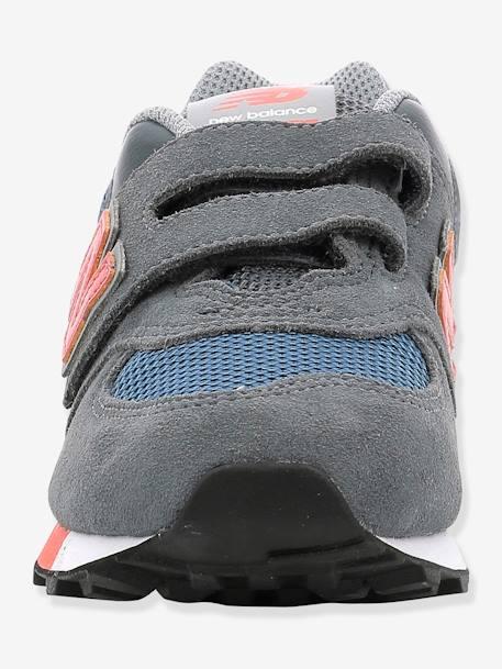 huge discount c519e ea7cd New Balance Baby Jungen Klett-Sneakers 574 NEW BALANCE in grau