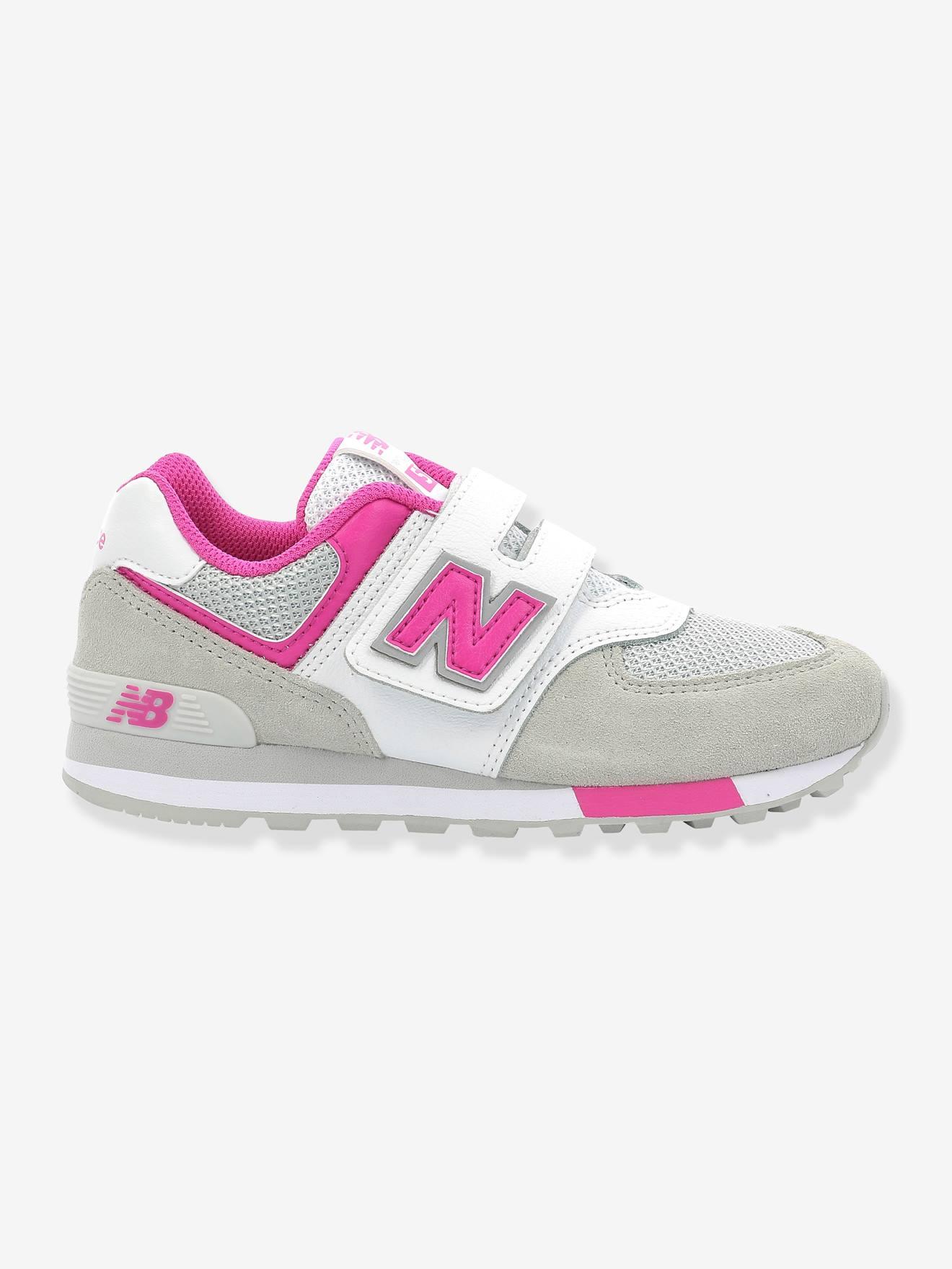 New Balance Mädchen Klett Sneakers 574 NEW BALANCE in weiß