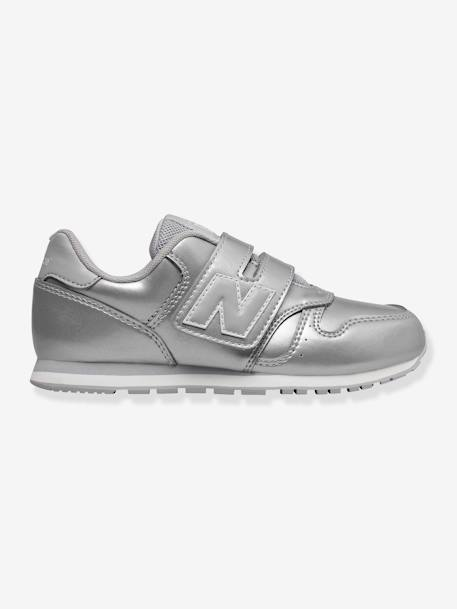 sneakers for cheap 454c0 8dfc9 New Balance Mädchen Klett-Sneakers 373 NEW BALANCE in silber