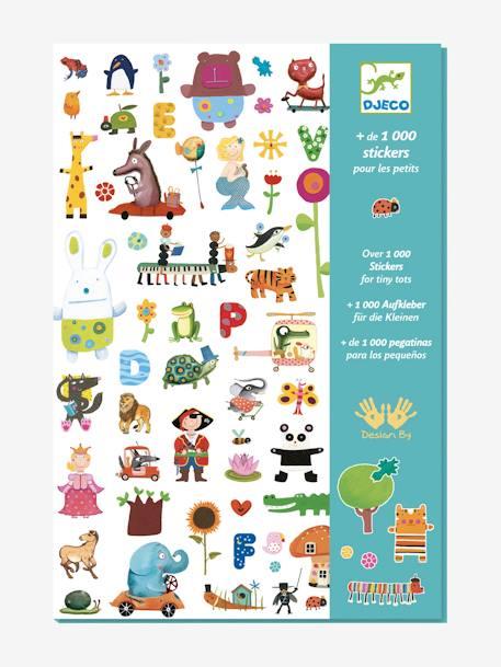 Djeco 1000 Kreativ Sticker Djeco Ab 3 Jahren In Mehrfarbig