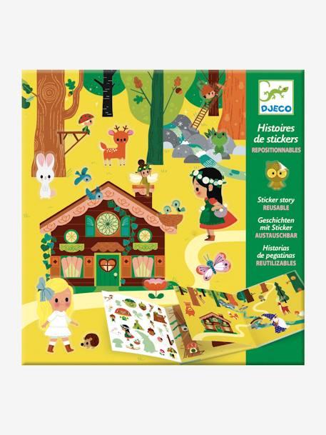 Djeco Sticker Buch Zauberwald Von Djeco In Mehrfarbig