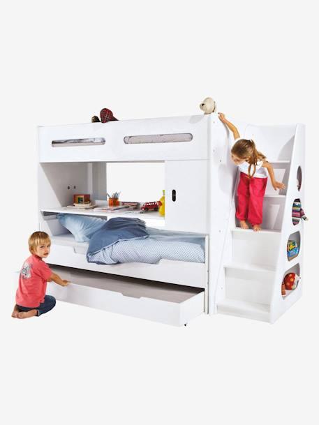 Kinderbett  Vertbaudet Kinderbett mit Rollen