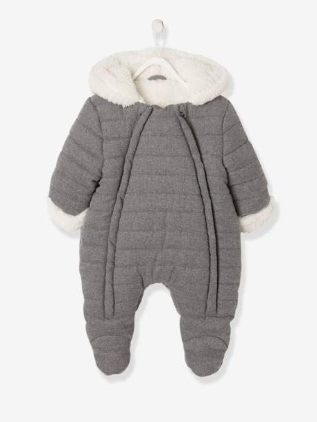 Vertbaudet Baby-Overall aus weichem Flanell