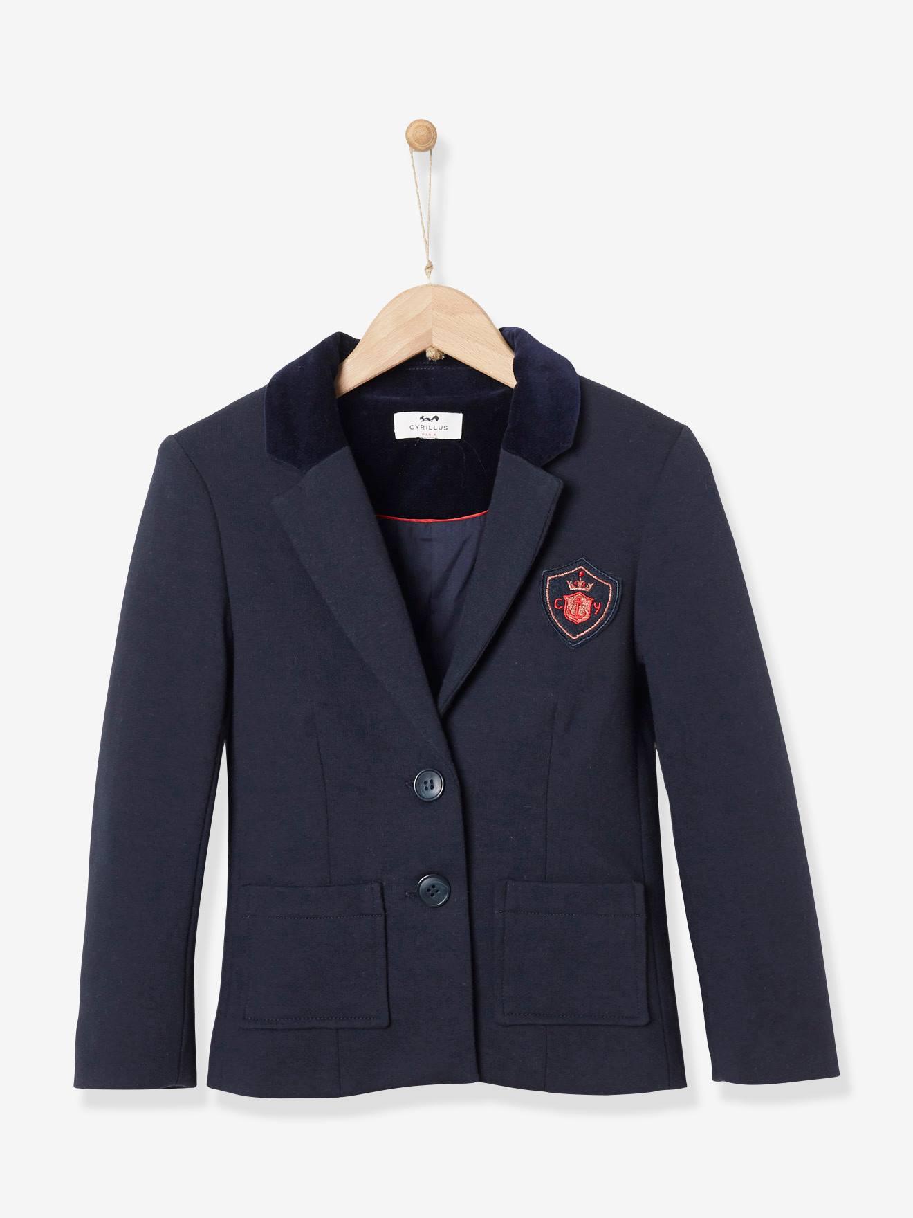 Mädchen Jacken Blau bequem online aussuchen vertbaudet