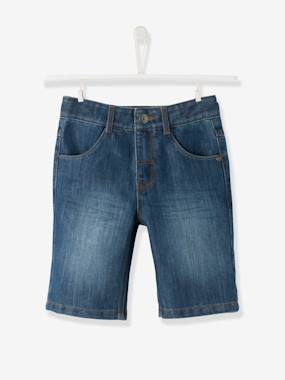 vertbaudet-happy-price-jungen-bermudas-aus-denim-blue-stone-kinder-gr-86