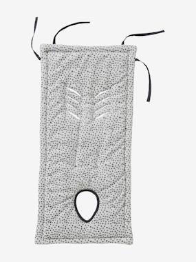 Buggy-Sitzauflage weiß/grau von vertbaudet