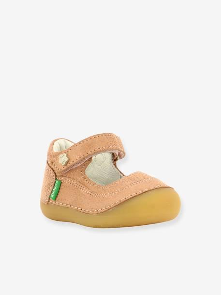 """Artikel klicken und genauer betrachten! - Die hochwertigen Baby Mädchen Sandalen von KICKERS® mit Leo-Muster sind ein trendiger Sommerschuh für kleine Damen - und herrlich bequem. Softes Leder, solide Verstärkungen und eine flexible Sohle sorgen für sichere erste Schritte. Dank Klettriegel sind die Baby Sandalen ruckzuck angezogen!  Produktdetails:  Baby Mädchen Leder-Sandalen """"Sorbaby"""" KICKERS®: Obermaterial Leder (Rind) mit Leopardenmuster, Ton-in-Ton. Futter Leder.   im Online Shop kaufen"""