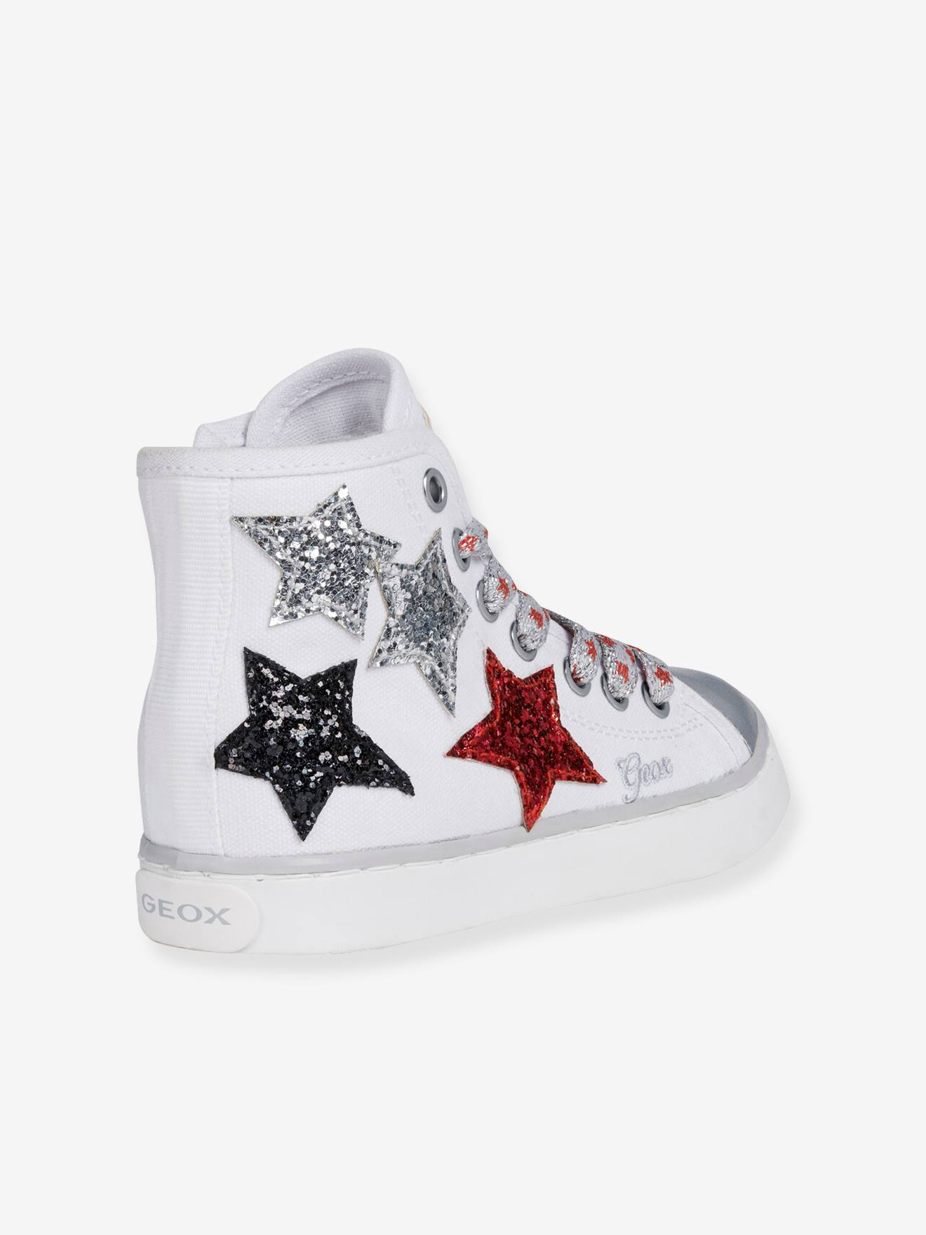 "Geox Mädchen Sneakers ""Ciak"" GEOX in weiß"