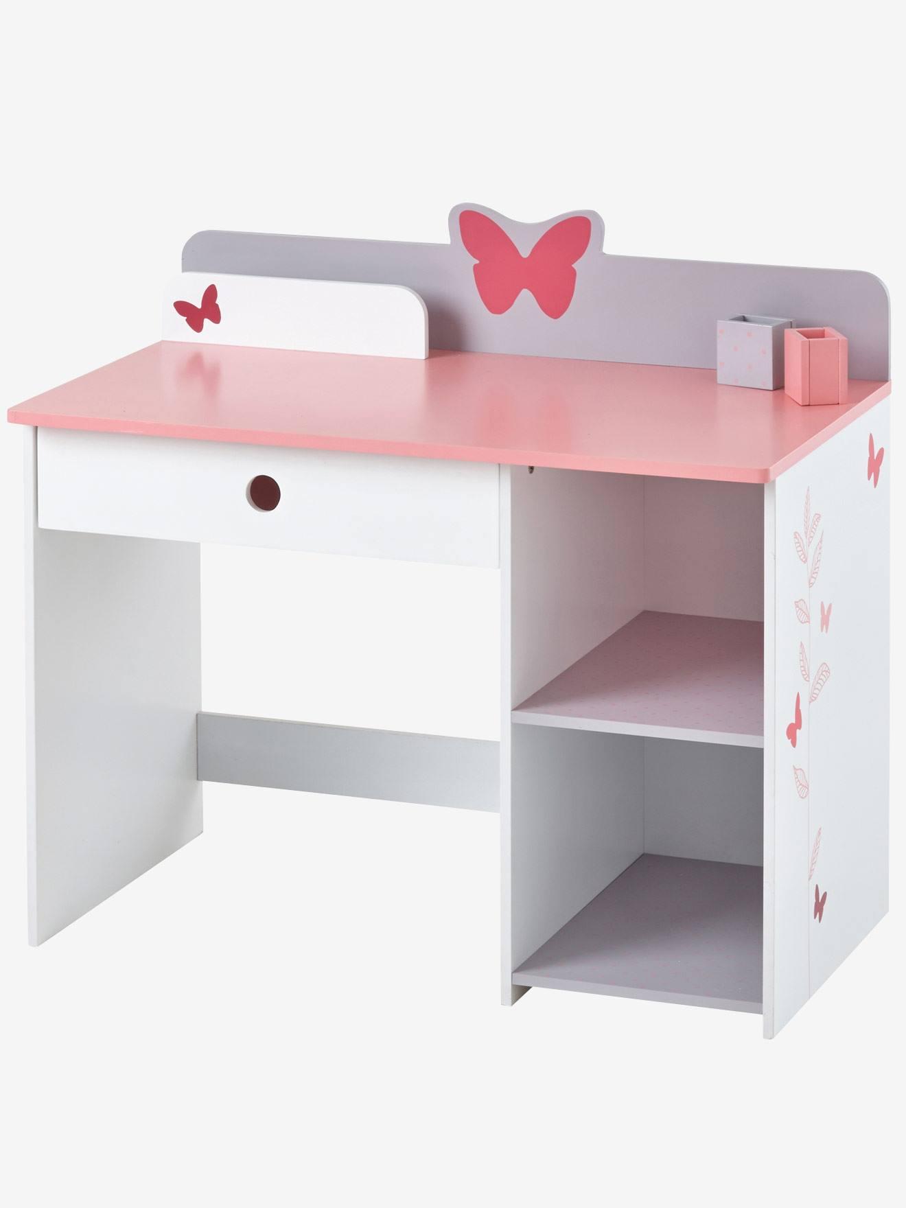 vertbaudet niedriger schreibtisch f r vorschulkinder in wei. Black Bedroom Furniture Sets. Home Design Ideas