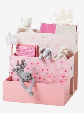 vertbaudet-stufen-bucherregal-mit-sternen-rosa