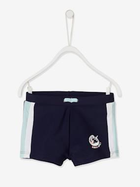 Baby Jungen Badeshorts nachtblau Gr. 62 von vertbaudet