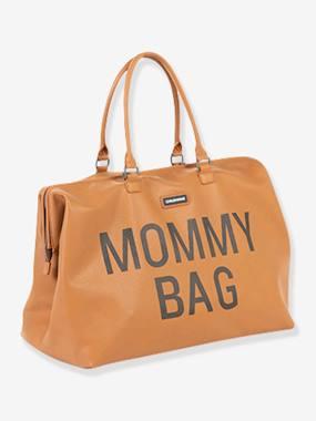 """Wickeltasche """"Mommy bag"""" CHILDHOME, Lederoptik braun"""