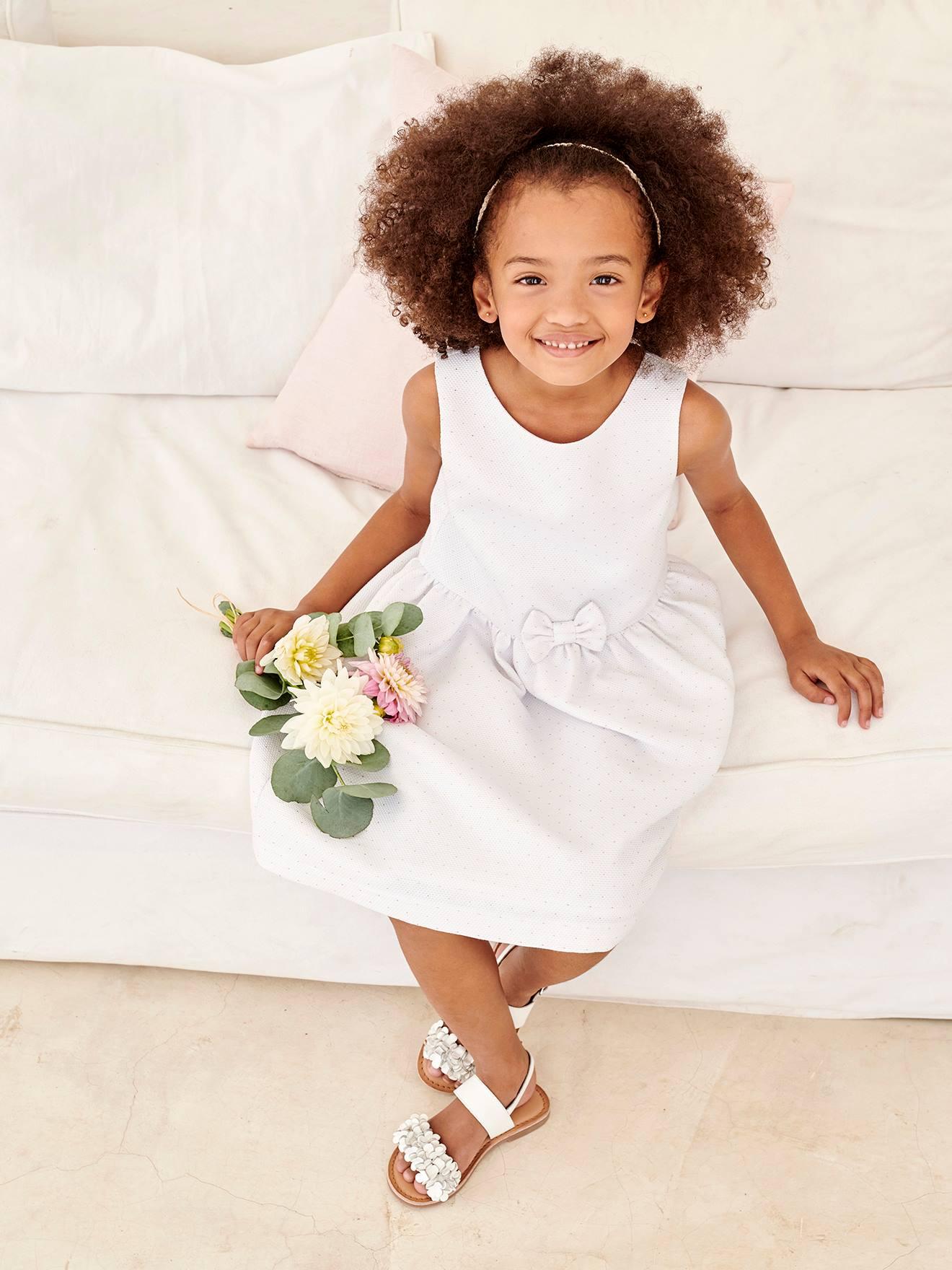 Festlich weiße mädchen kleider Festliche Kleider