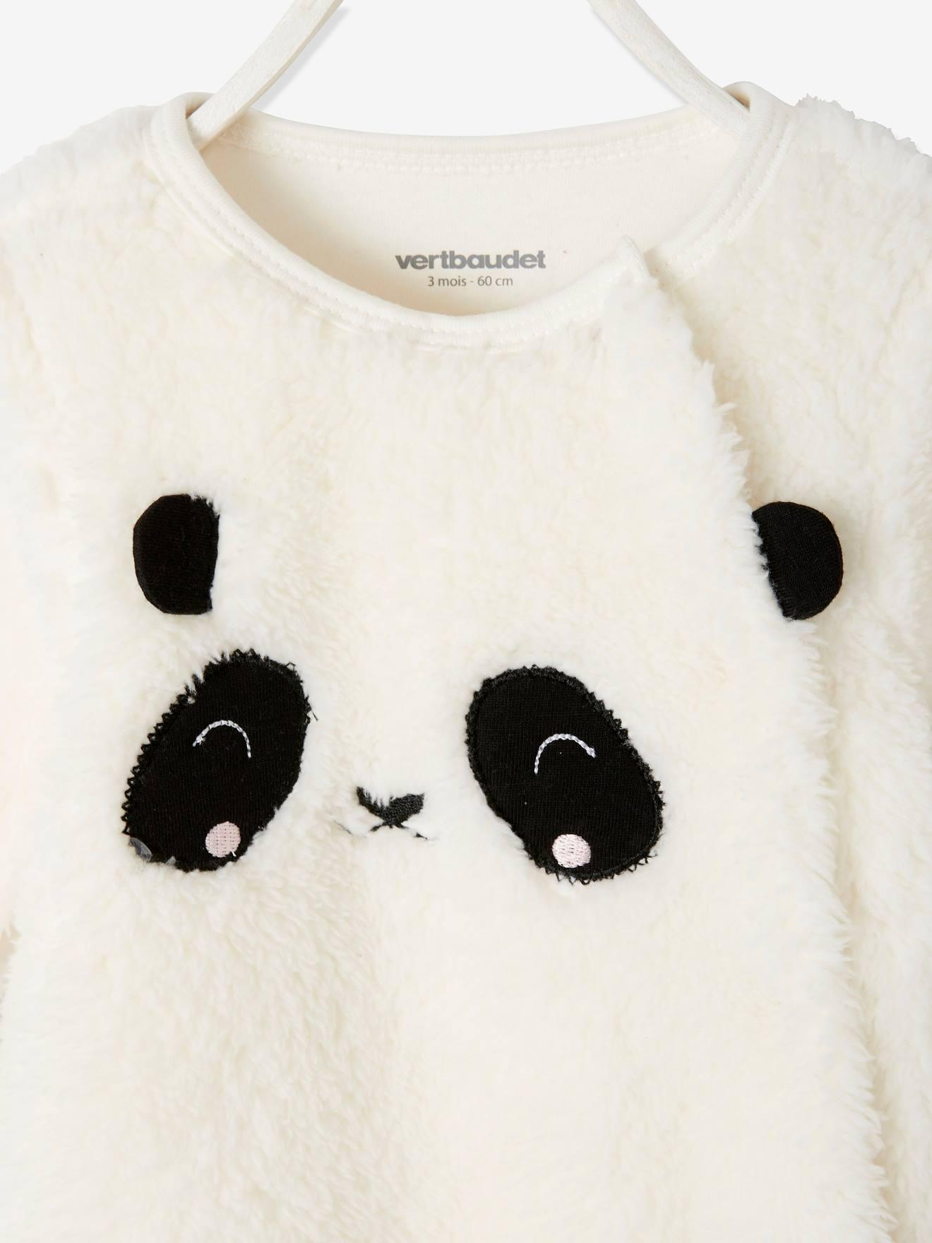 Vertbaudet Baby Overall Panda oder Maus Webpelz