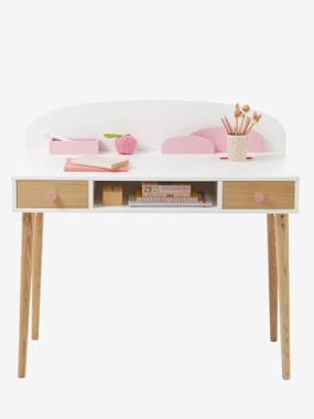 """Schreibtisch """"Konfetti"""" weiß/natur von vertbaudet"""
