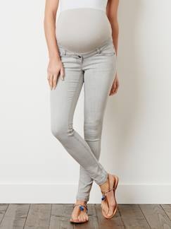 Denim Trends-Umstandsmode-Umstands Slim-Fit-Jeans, Schrittl. 85 cm
