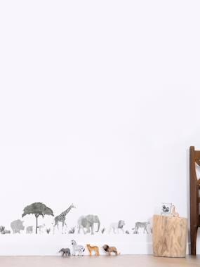 Kinderzimmer Wandsticker LILIPINSO weiß/schwarz afrikatiere