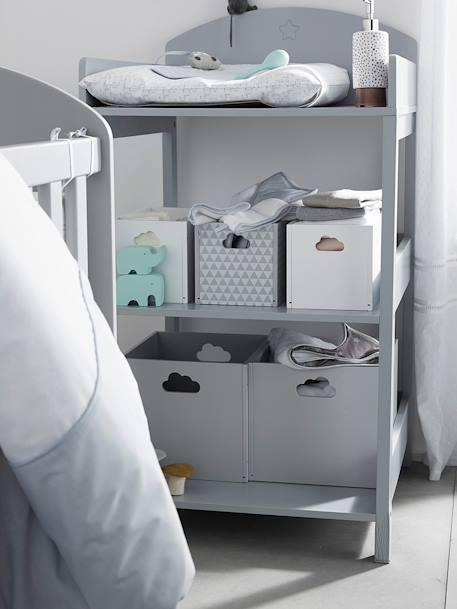 vertbaudet kleine aufbewahrungsbox f r kinder in wei. Black Bedroom Furniture Sets. Home Design Ideas