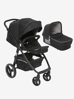 """Kombi-Kinderwagen """"Mobicity"""" mit Babywanne schwarz von vertbaudet"""