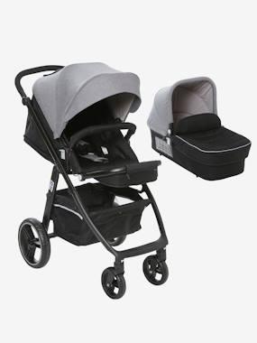 """Kombi-Kinderwagen """"Mobicity"""" mit Babywanne schwarz/grau von vertbaudet"""