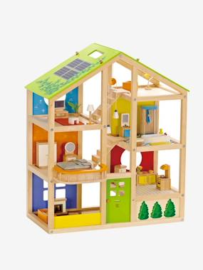 vertbaudet-gro-es-puppenhaus-von-hape-mobliert-multicolor-hellbraun