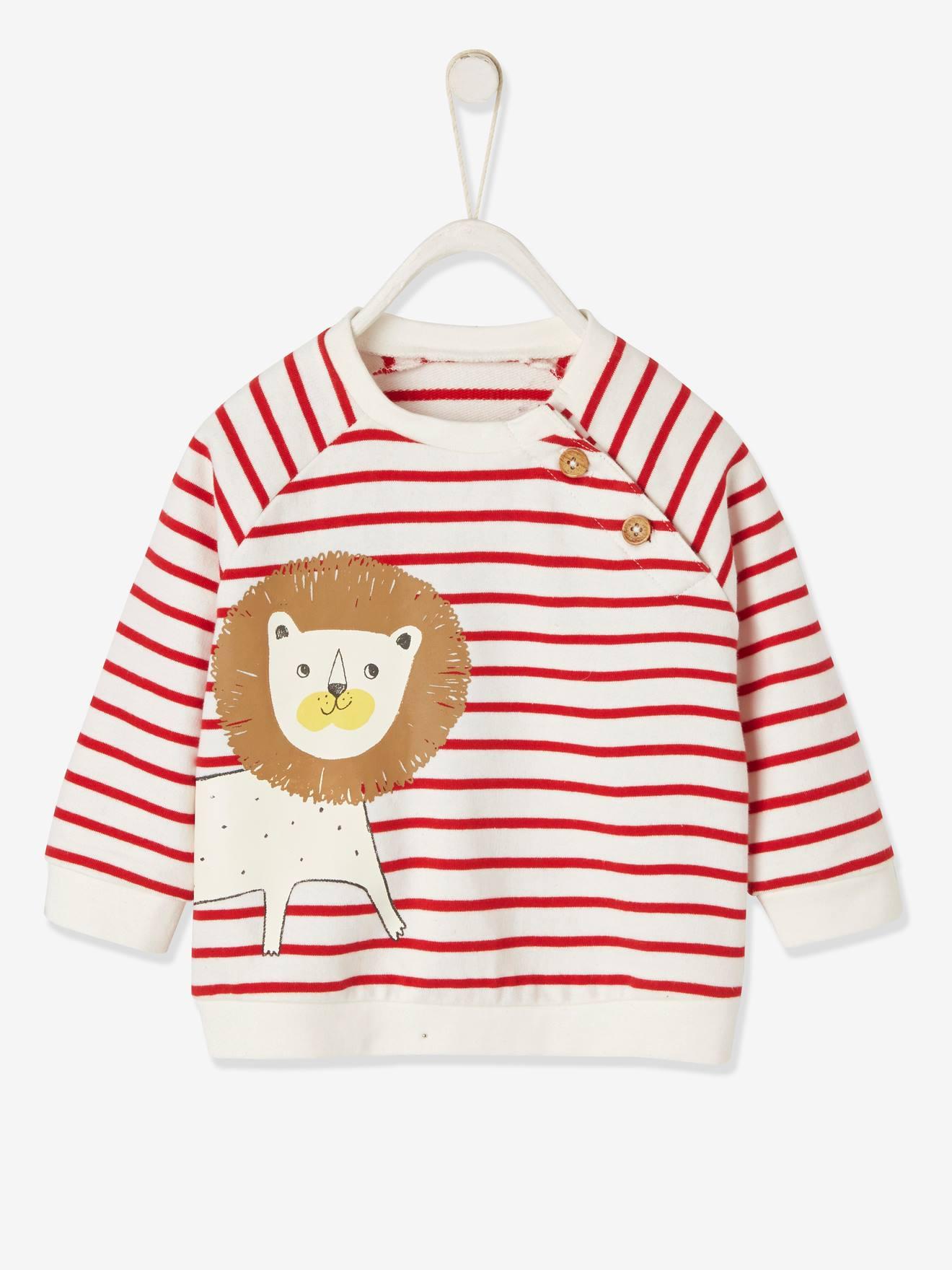 bestickt Vertbaudet Baby-Pullover