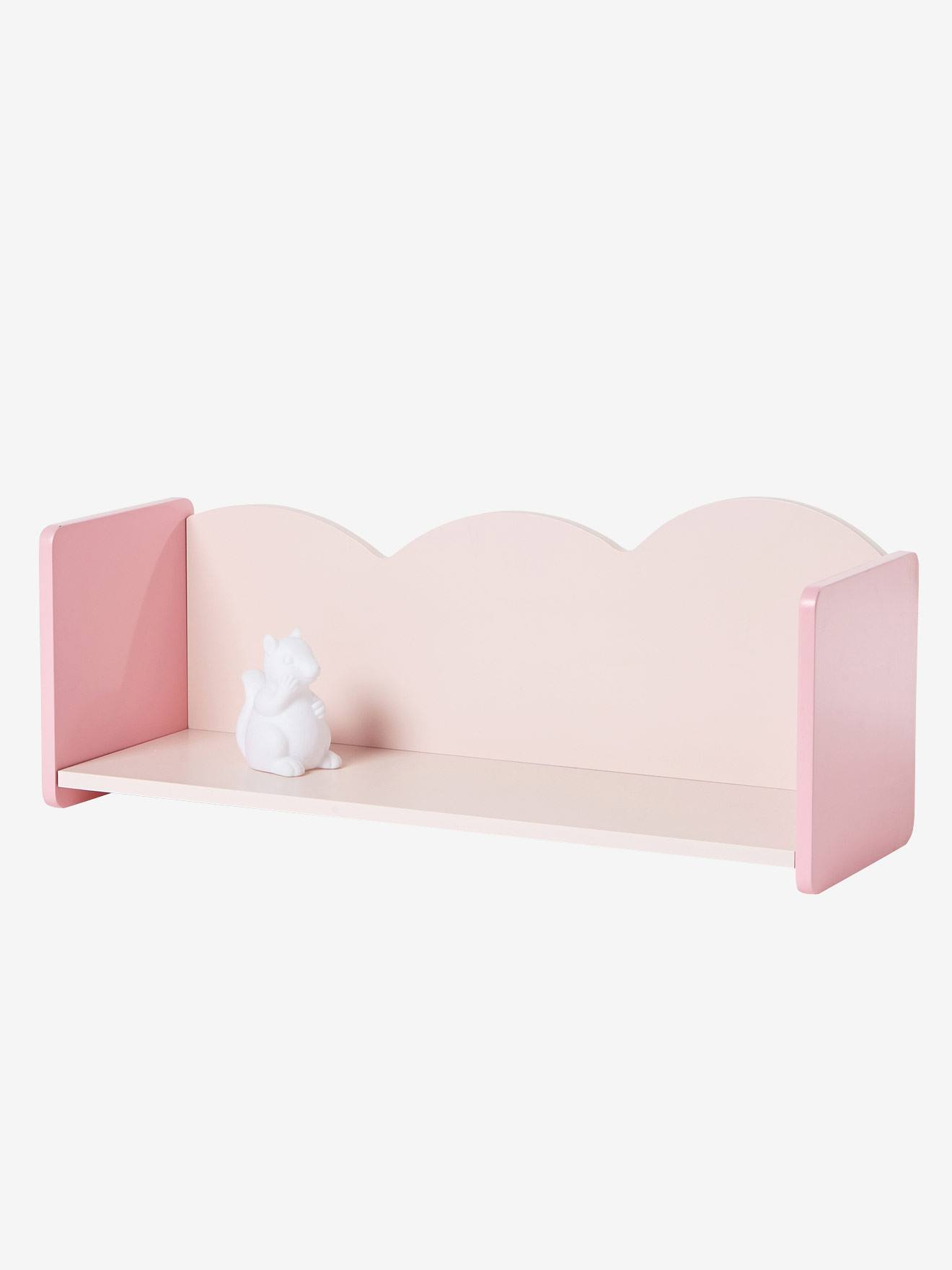 Vertbaudet Wandregal Fur Kinderzimmer Wolke In Rosa