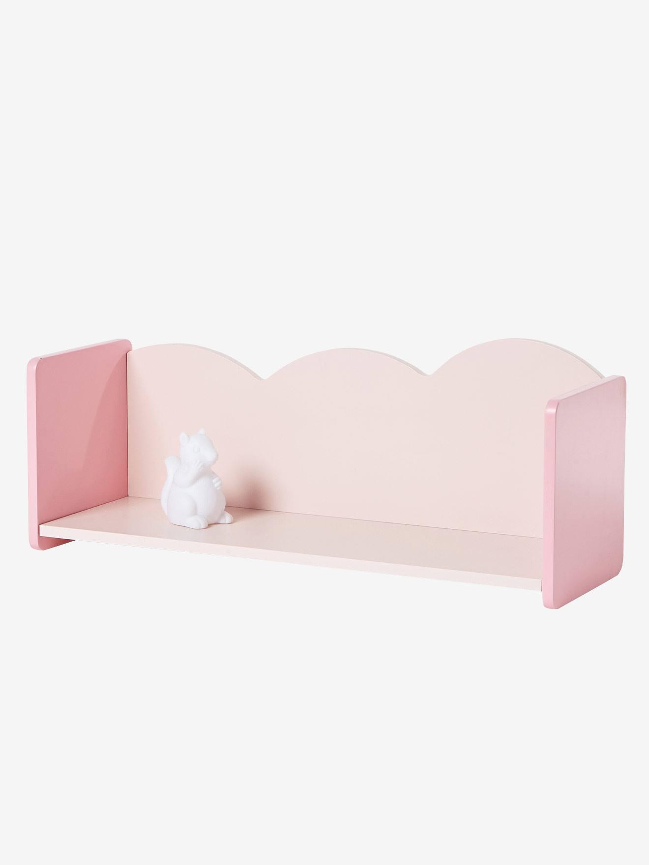 Vertbaudet Wandregal für Kinderzimmer in rosa