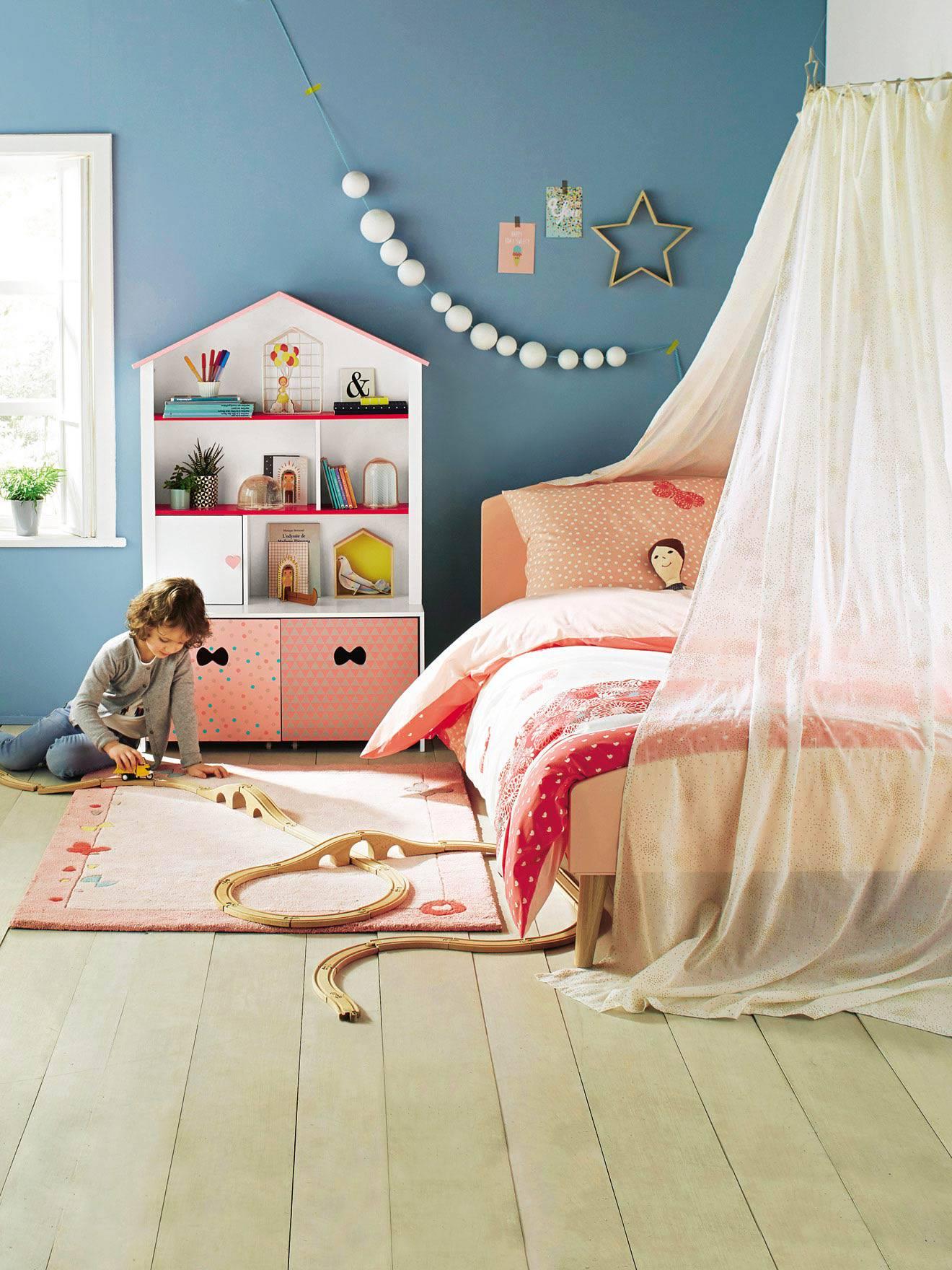 Lieblich Betthimmel Vorhang Für Kinder   Weiß/pailletten   8