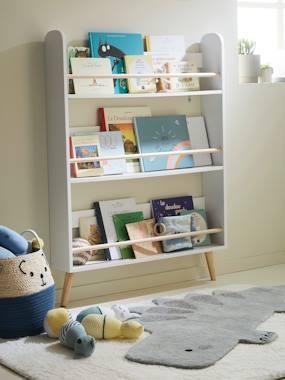 """Kinderzimmer Teppich """"Kleiner Dino"""" graugrün von vertbaudet"""