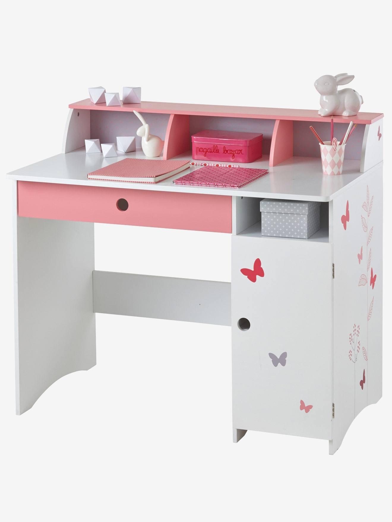 Kinderzimmer Kindermöbel Kinderschreibtisch Mit Schmetterlingen