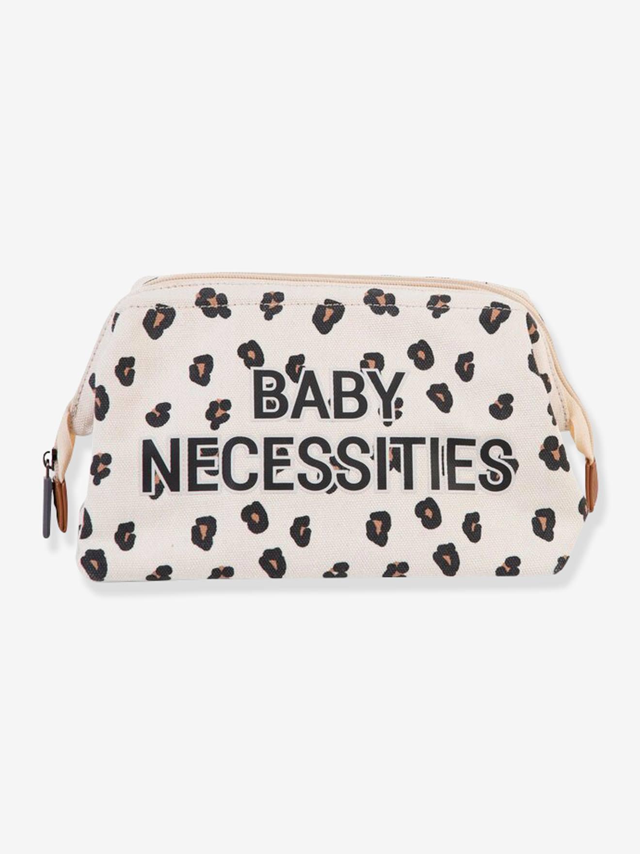 """Baby Waschbeutel """"Baby Necessities"""" CHILDHOME leoprint"""