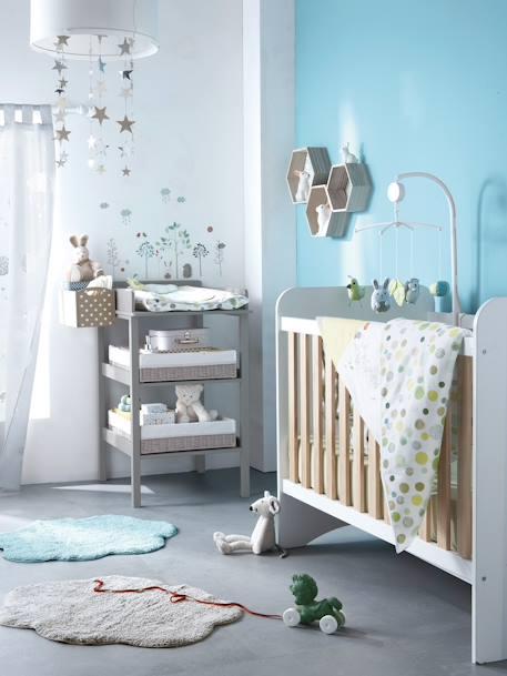 vertbaudet teppich f r kinderzimmer in blau. Black Bedroom Furniture Sets. Home Design Ideas