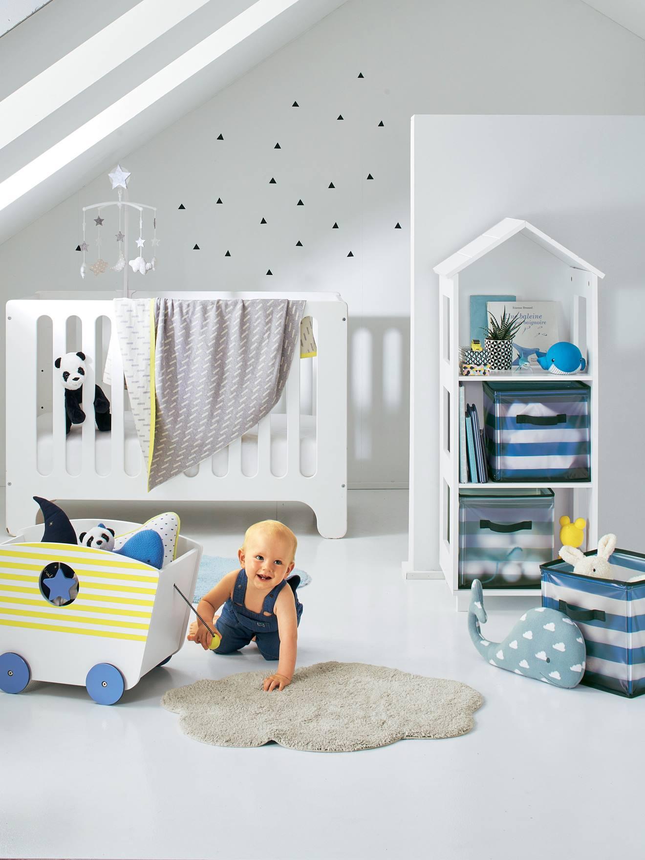 Vertbaudet Teppich für Kinderzimmer in blau
