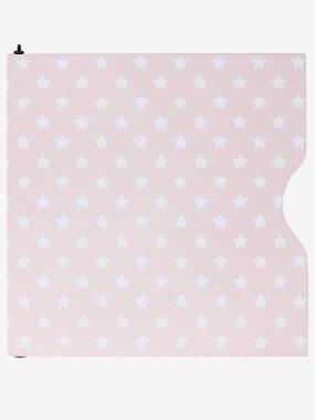 vertbaudet-regaltur-mit-montageset-verschiedene-modelle-rosa-sterne