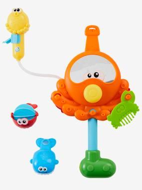 vertbaudet-badewannenspielzeug-krake-mit-wassermuhle-multicolor-hellrot