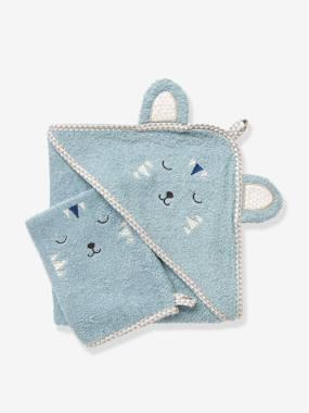 baby-badetuch-mit-waschhandschuh-tiere-mittelblau-einfarbig-app-gro-e-70x70-von-vertbaudet