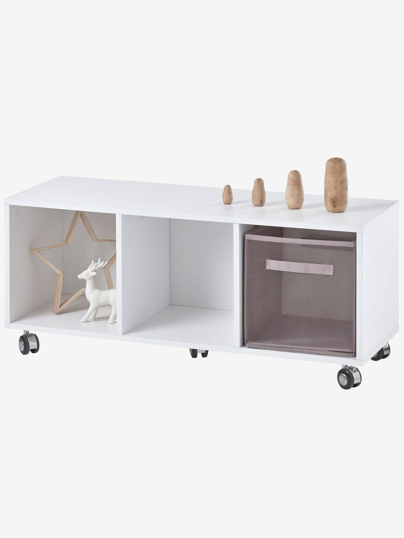 vertbaudet kinderzimmer sideboard mit rollen wei kaufen. Black Bedroom Furniture Sets. Home Design Ideas