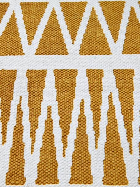 vertbaudet kinderzimmer teppich grafisches muster in gelb. Black Bedroom Furniture Sets. Home Design Ideas
